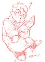 .:Simon:. Reading by t-deines