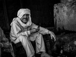 Waiting For The Degh To Cook by InayatShah