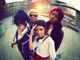 K-Project Group Cosplay 1 by SNTP
