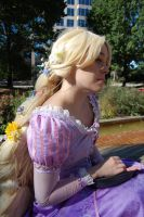 Sitting In The Sun- Rapunzel by AyeAvast