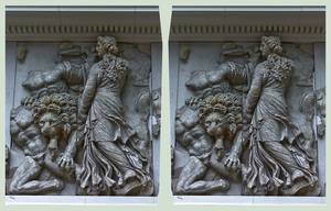 Pergamon Museum Berlin I ::: HDR Cross-View 3D by zour