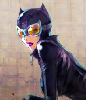 catwoman by 89g