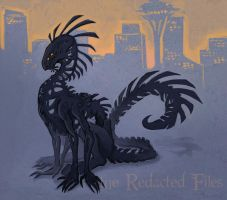 The Shadow Beast of Seattle by Aazure-Dragon