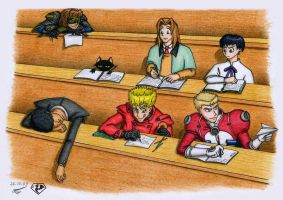 TRIGUN lecture by 9YellowDragon9