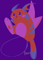 Raichu Color Challenge by Airenu-ish