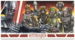 Vader and Bounty Hunters - RotJ WideVision AP by Erik-Maell