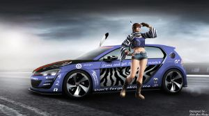 VW design vision GT-I Michelle Chang spec pic 4 by girabyte225-jc-lover