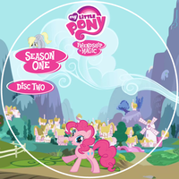 Friendship is Magic S1 Disc 2 DVD Label by Loaded--Dice