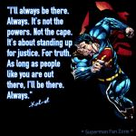 Superman will always be there by Jasontodd1fan