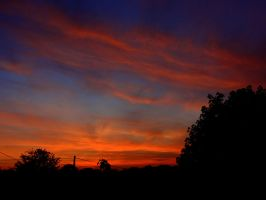 Red Sky At Night by Kaz-D