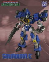 Armored Core - Soundwave by leangreen76