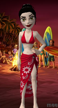 Azula at the beach by InsomniaCafe
