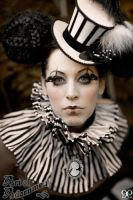 Antique Circus - Harlequin by ArtOfAdornment