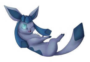 .:PKM:. Glaceon by LuneTheTiger