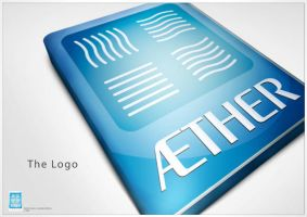 Aether tower logo concept by nassimh