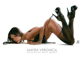 Mayra Veronica by MATTBUSCH