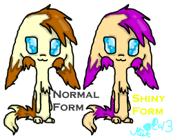 Ivo - Normal and Shiny by ShinyMisty