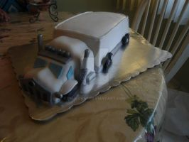 Truck Cake by PnJLover