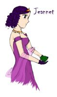 Jeannet with the Emerald - ink by Axiniana