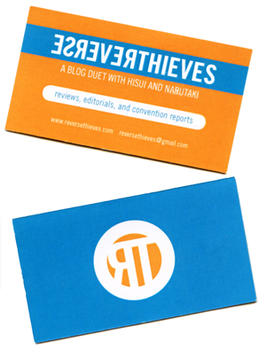 Reverse Thieves Business Card by littlearashi