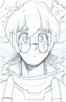 Voltron: Legendary Defender - Pidge Sketch by furrychaos