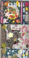 Meh Japanese Stickers by RudolphSnow
