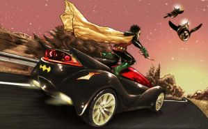 Batman and Robin cropped by tonytorrid