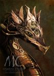 Dragon Steampunk by CoudrayMathieu