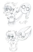 Annie Shade Boo Nancey scribbles by Kittychan2005