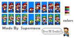 Edited SMW Mario and Luigi by Mamamia64
