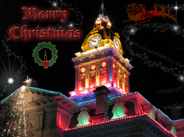 Merry Christmas Wallpaper by WDWParksGal