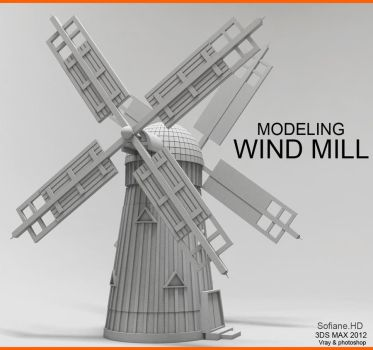 Wind Mill by moudjahad
