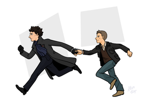 Sherlock: We're Going to Need to Coordinate by rabbitcourage