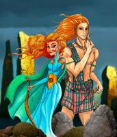 Lords of the Highlands by MissMikopete