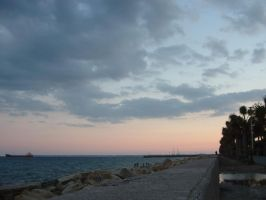 Sunset in Limassol by medicman4444