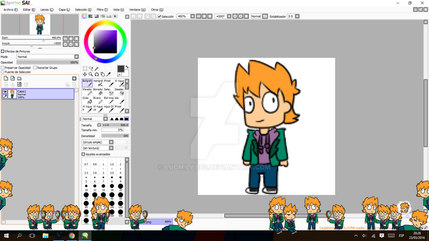 Eddsworld - Matt Shimeji by ludmilabb2