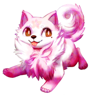 com: puffy fluffy pom by Pand-ASS