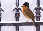 Mr Robin by Finnguala