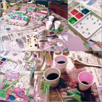 Easter Egg Dying by rayray-152