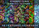 Stained glass seamless texture 4 by jojo-ojoj