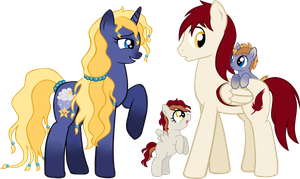 PC - Starry Dream's Family by LudiculousPegasus