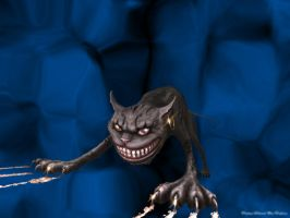 Cheshire Cat by thedaphinator