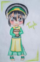::Contest prize:: Toph by MarchKitty