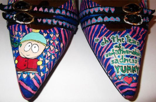 south park heels - fronts by Zvalosch