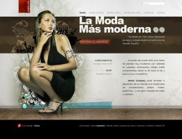 Fashion Web Design by lKaos