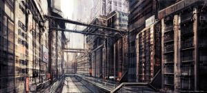 Cradle Song - Outside Street 01 Concept by softmode