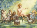 The Bath of Artemis by FrancescaBaerald