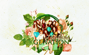 SNSD in the graden by jina-hwang