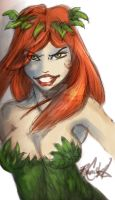 Catwoman Classic Poison Ivy by RyanMcMurry