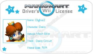 MKWII Driver's Licence for olghie2 by agentbananayum